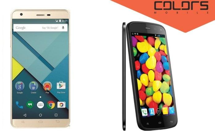 Colors X Factor series Smartphones