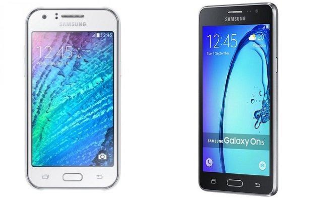 Galaxy On5 vs J5