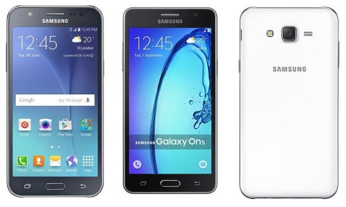 Samsung Galaxy J Series vs Galaxy On Series