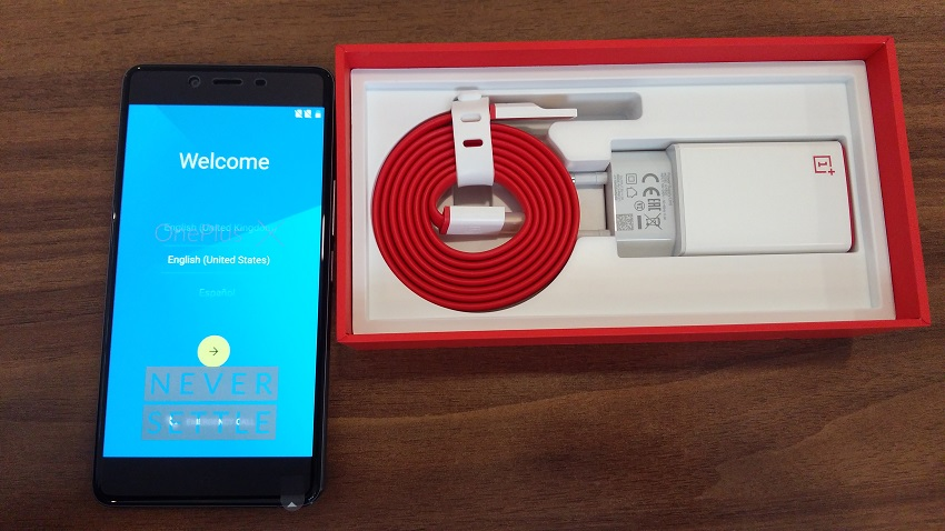 One Plus X in Nepal with box