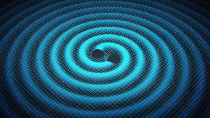 Gravitational Waves Waves Demonstration