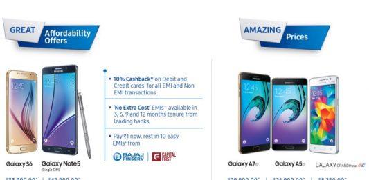 Samsung Make for India Offer