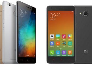 Xiaomi Redmi 3 Pro with Redmi 2 Pro