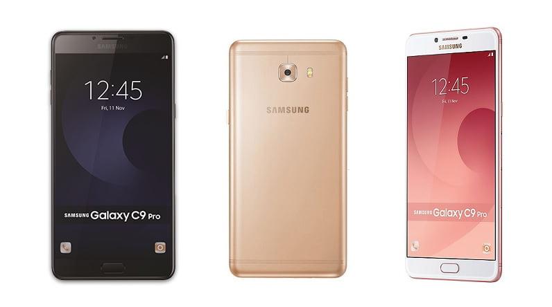 Samsung Galaxy C9 Pro Render Models