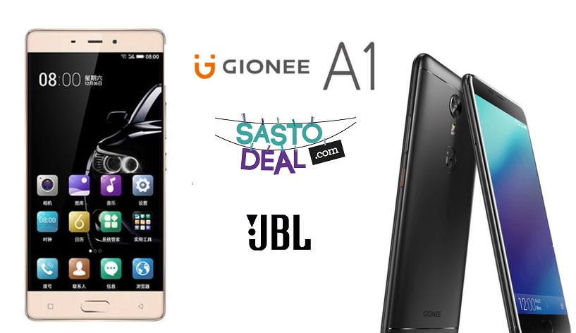 Gionee A1 price in Nepal, booking