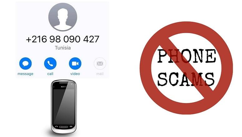Missed call phone scam in Nepal Wangiri