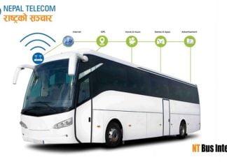 Nepal Telecom NT Bus Internet Service