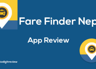 Fare finder Nepal app review