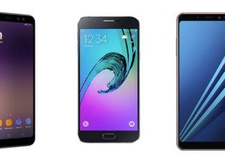 Samsung Galaxy A8, A8 Plus 2018 vs A8 2016 vs A8 2015