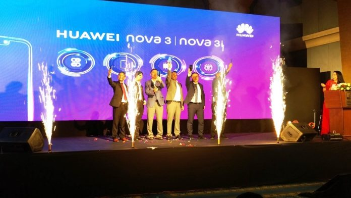 Huawei Nova 3 price in Nepal, launch event