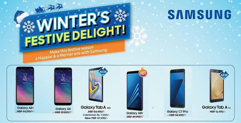 Samsung Nepal Winter Festive Delight 2075 Offers, discounts