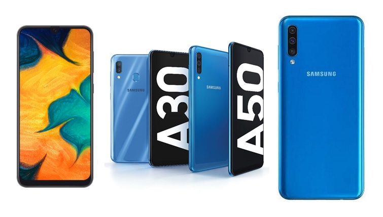 Samsung Galaxy A30 and Galaxy A50 Price in Nepal