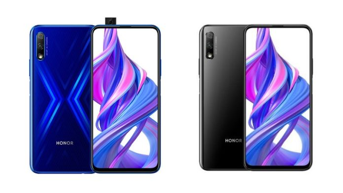 Honor 9X Models with Pop-up camera