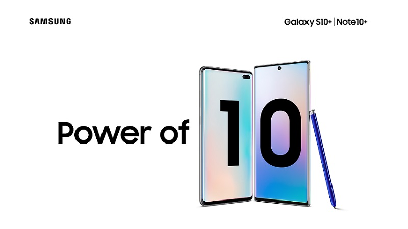 Discount on Samsung Galaxy S10 and Note 10 series