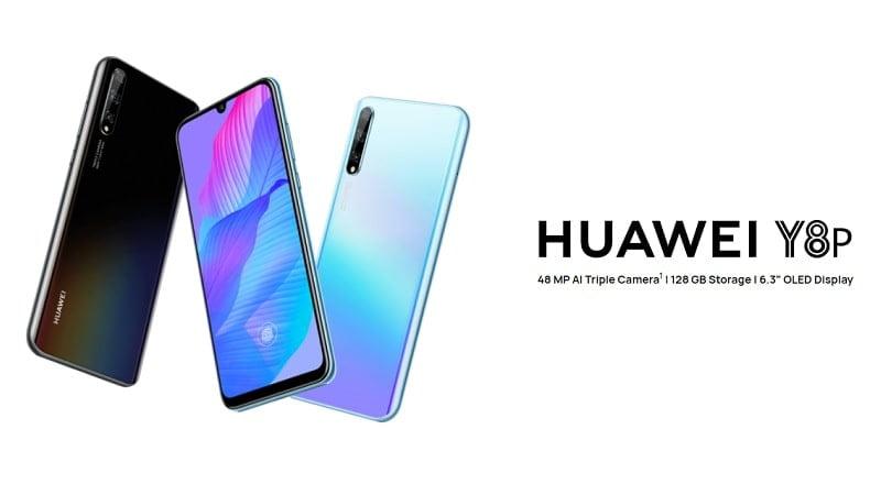 Huawei Y8P Renders