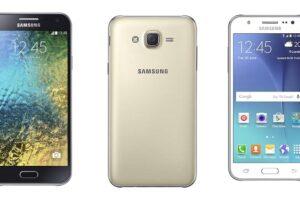 Samsung Galaxy E series vs J Series