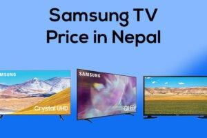 Latest Samsung TV Price in Nepal