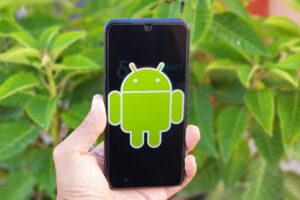 Android Logo on Smartphone